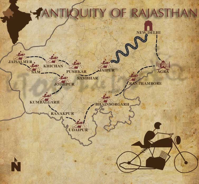 Rajasthan motorcycle tour