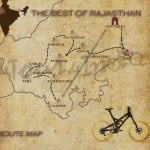 best-of-Rajasthan Route Map