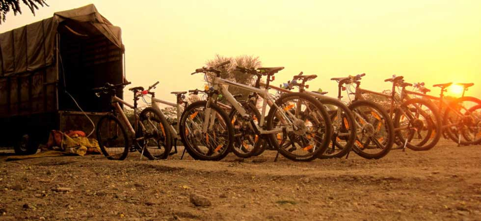 Cycling Holidays in India