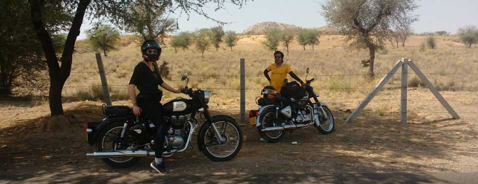 Rajasthan tour at Motorcycle