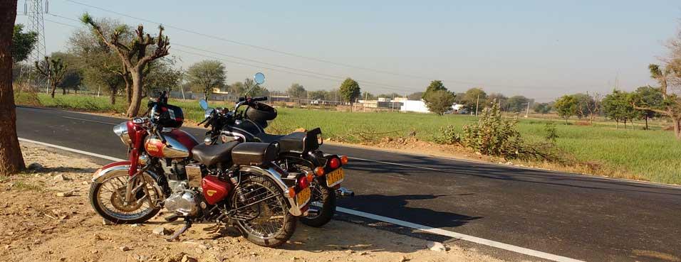 Jaipur Puchkar Motorbike tour