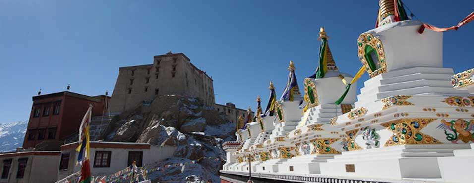 Cycle tour in Ladakh India