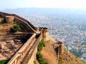 Highest Point of Nahargarh Fort Jaipur