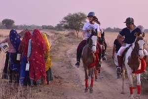 Horse riding in jaipur