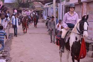 Village Horse Safari in Jaipur