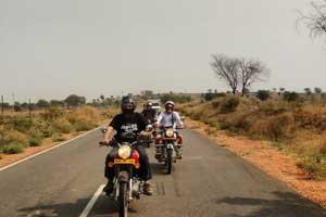 Village motorcycle tour Jaipur