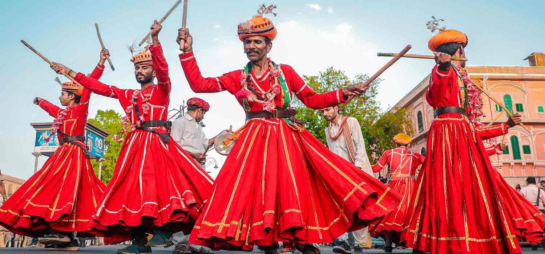 Jaipur Teej Walk